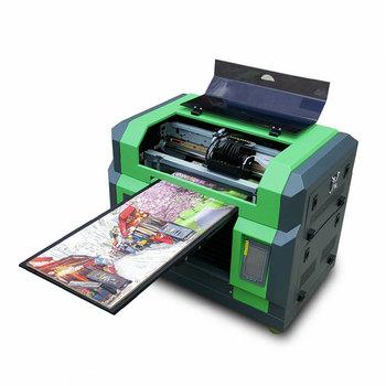 Scratch Card Uv Flatbed Printer Multicolor Digital Paper Printing Machine -  Buy Pvc Card Printer,Logo Printing Machine,Mobile Printer Product on