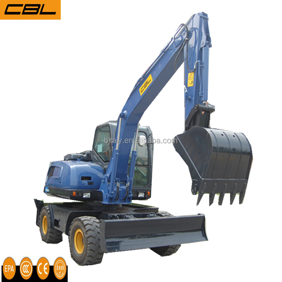strong power usde 9t wheel excavator for sale