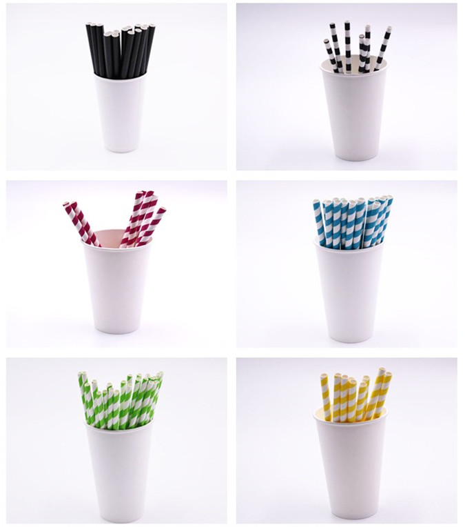 disposable biodegradable paper drinking straw