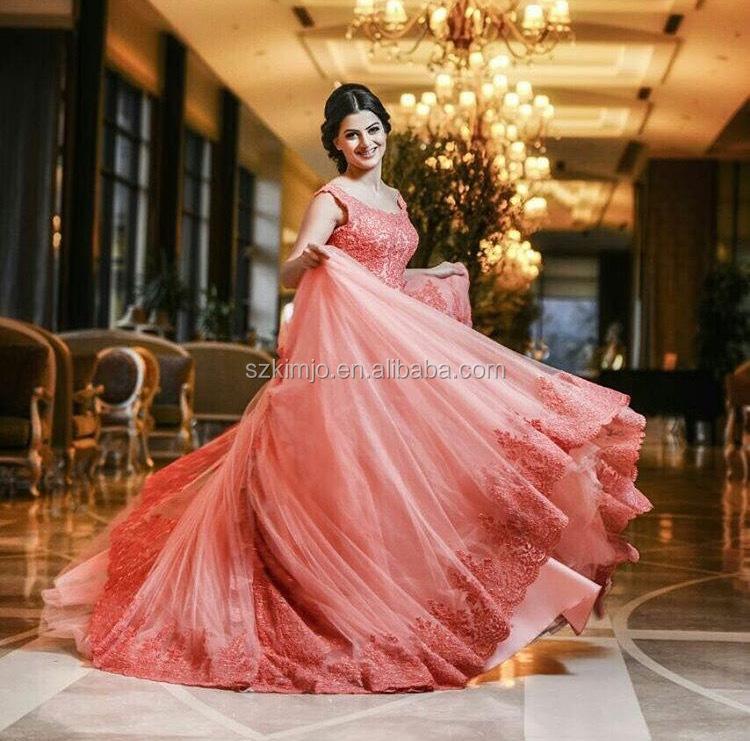 Venta al por mayor vestido promocion coral-Compre online los mejores ...