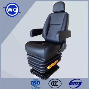Luxury hydraulic suspension boat suspension seat for marine