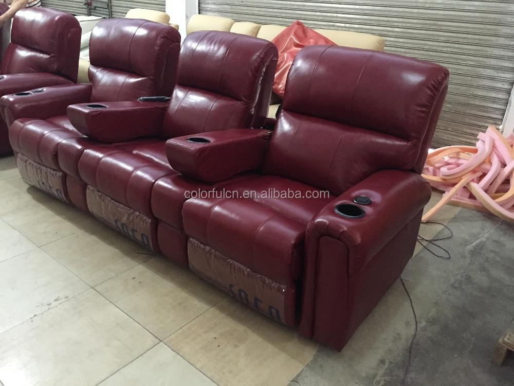 Wall Best Recliner Sofa In Purple Ls605