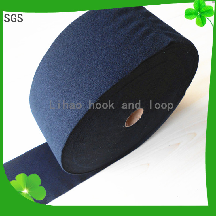 Colorful 100%Polyester/Nylon garment loop fabric