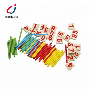 China manufacturer wholesale kids math counting educational wooden toy in bulk
