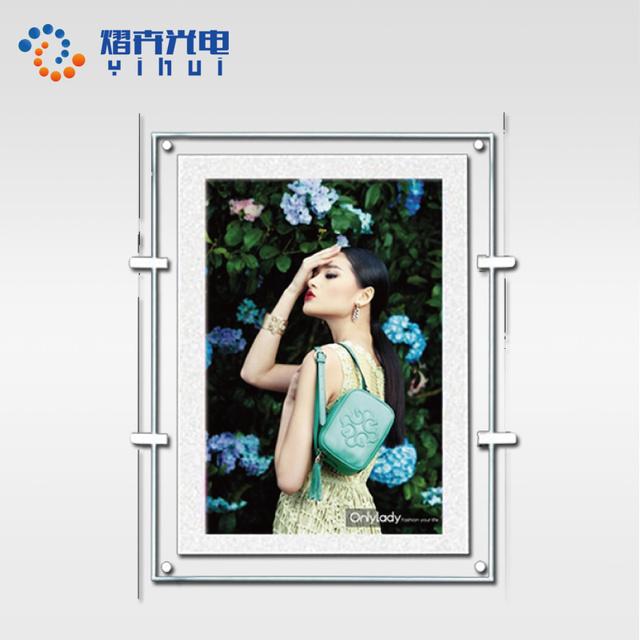 China led ultra slim light box wholesale alibaba oem frameless commercial led acylic crystal light box aloadofball Images