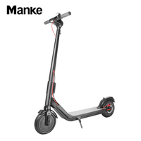 Manke MK009 Wholesale Price Good Quality 8.5inch Electric Foldable Kick Scooter with Double Disco Brakes for Adults