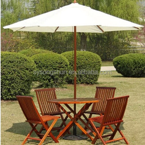 Outdoor Teak Wood Garden umbrella