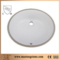 cUPC 1714 Bathroom Vanity Top Ceramic Sink Cheap Undermount Sinks