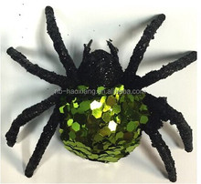 Halloween haunted house decoration bar scene all kinds of spider decoration / rain spider spider