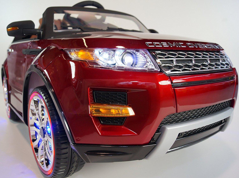 de24f94b9d39 Get Quotations · RIDE ON CAR Range Rover Evoque Safe Kids Car 12-volt  Electric Battery Powered Ride