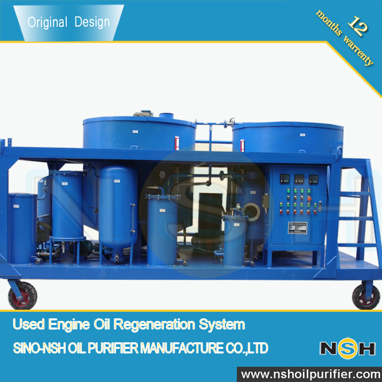 Black Motor Oil Reprocessing Equipment