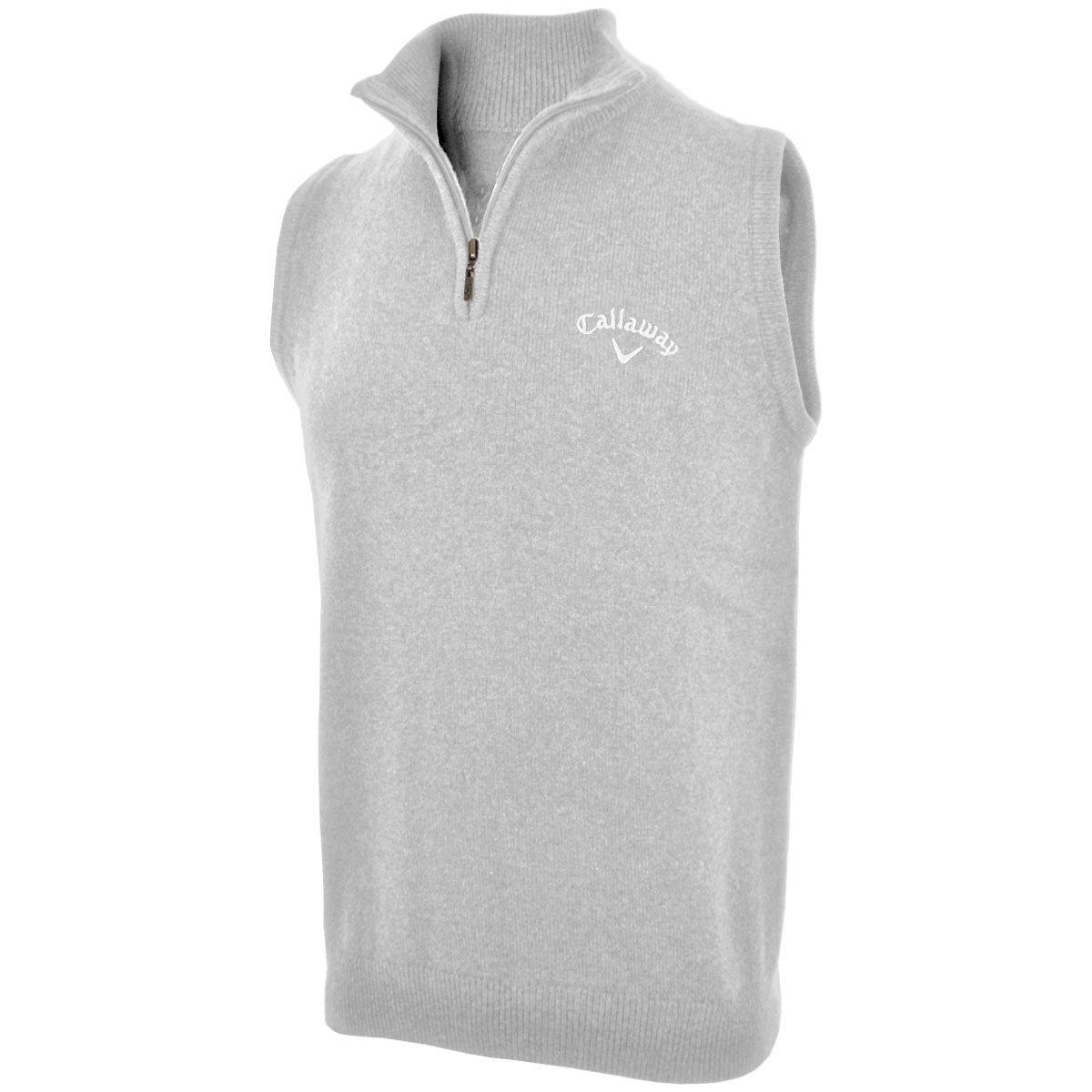 c0d41f750 Get Quotations · 2014 Callaway Zip Neck Golf Sweater Vest Wool Tank Top Mens  Slipover High Rise Medium