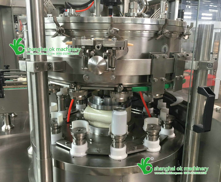 BK aerosol can seaming machine/can filling and seaming machine