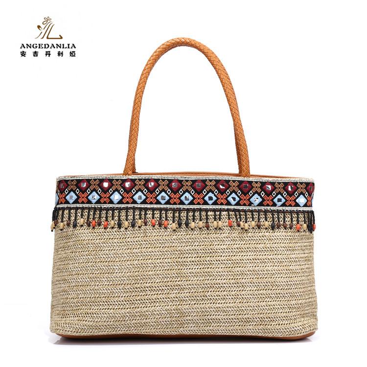 Venta al por mayor bolsos de playa crochet-Compre online los mejores ...