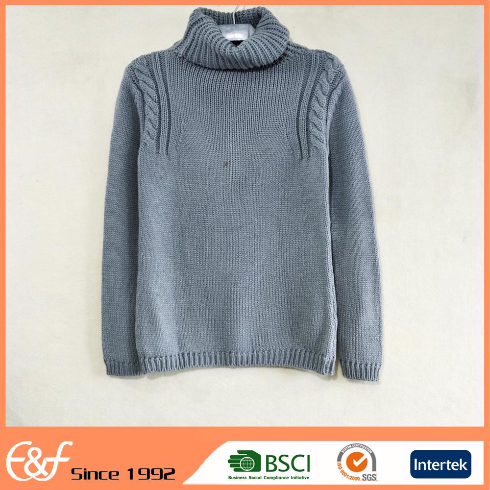 High Neck Knitting Sweater Patterns, High Neck Knitting Sweater ...