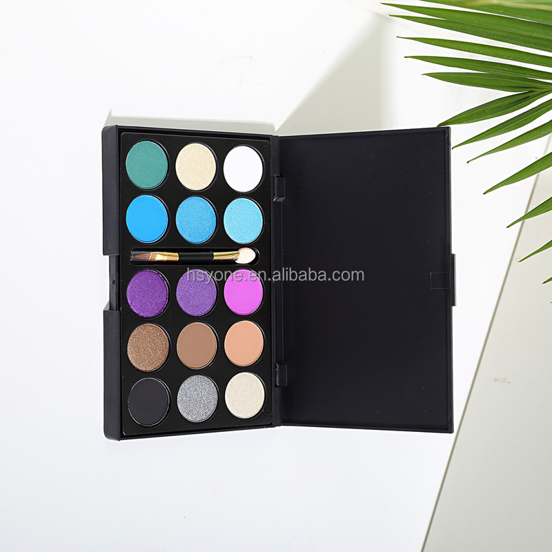 make up palette 2016 Wholesale Dry Eye Shadow Type and Mineral Ingredient oem cosmetics