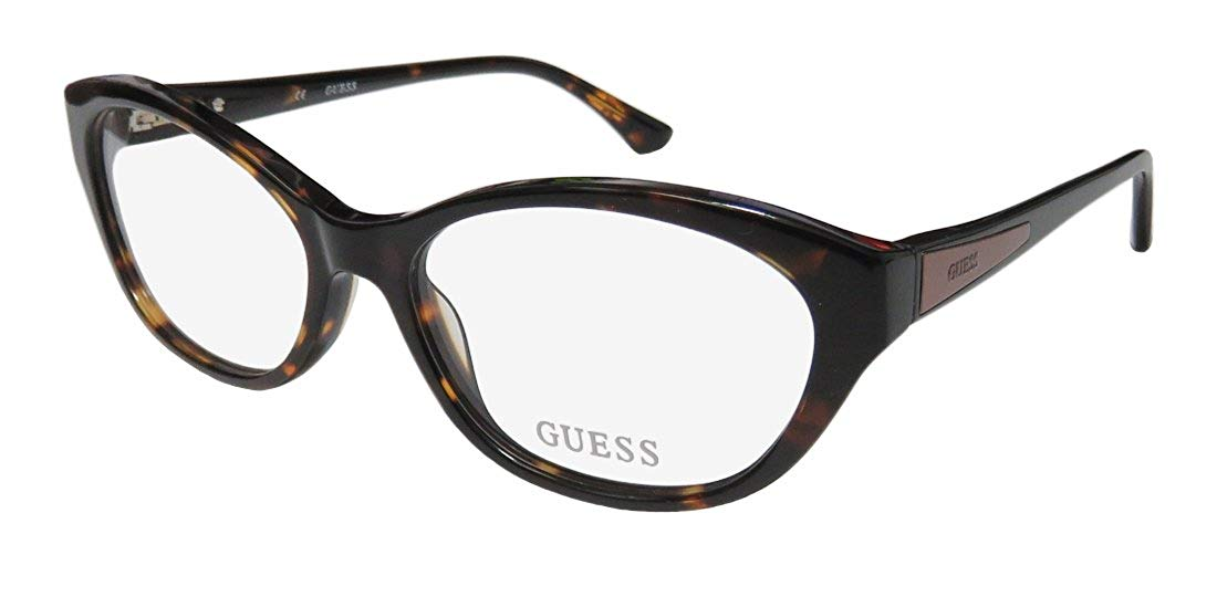 bd6c012d319 Guess Women s Eyeglasses GU2468 GU 2468 TO Tortoise Full Rim Optical Frame  52mm
