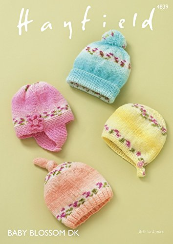 Get Quotations · Hayfield Baby Hats c48b2027c74