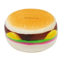 PU Squishies Toy china factory cheap small food squishy toys scented pu squishy cake hamburger pu foam toy