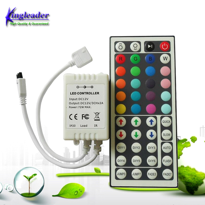 Led Controller 44 Keys LED IR RGB Controler LED Lights Controller IR Remote Dimmer DC12V 6A
