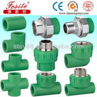 Germany standard PPR pipe fitting manufacturer, ppr water plastic pipe, PP-R pipe water pipe fittings