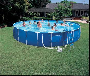 China Supply Above Ground Swimming Pool Round Shape Intex Swimming Pool -  Buy Swimming Pool,Round Shape Intex Swimming Pool,Above Ground Round Shape  ...