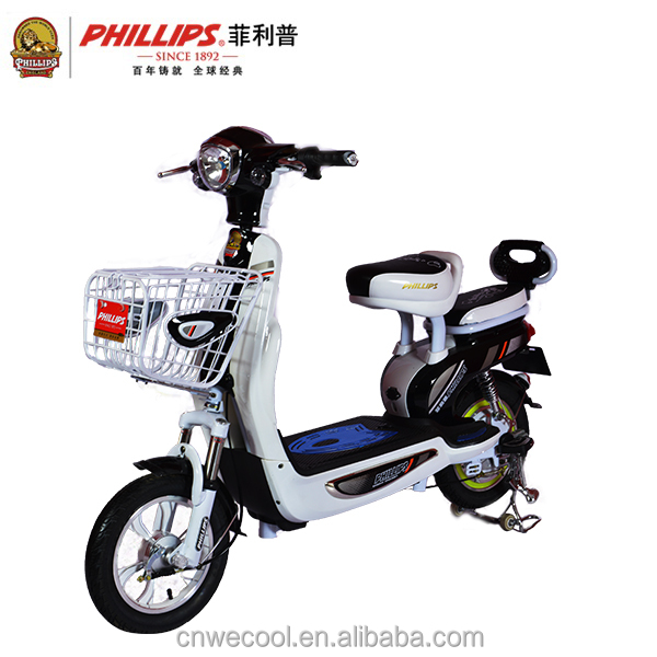 PHILLIPS New cheap mini fashion smart electric electronic motorcycle/used bicycle/a e-bike for sale city girl sale with pedals