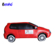 Z544 Large cartoon inflatable car model,replica for decoration,Free 3D Design Giant Advertising Red Inflatable Car Model Cars