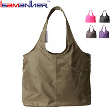 Polyester latest large sling bags for women