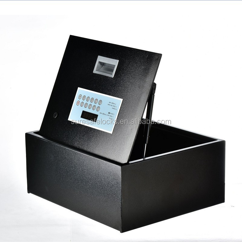 High security top open hotel electronic key safes for sale