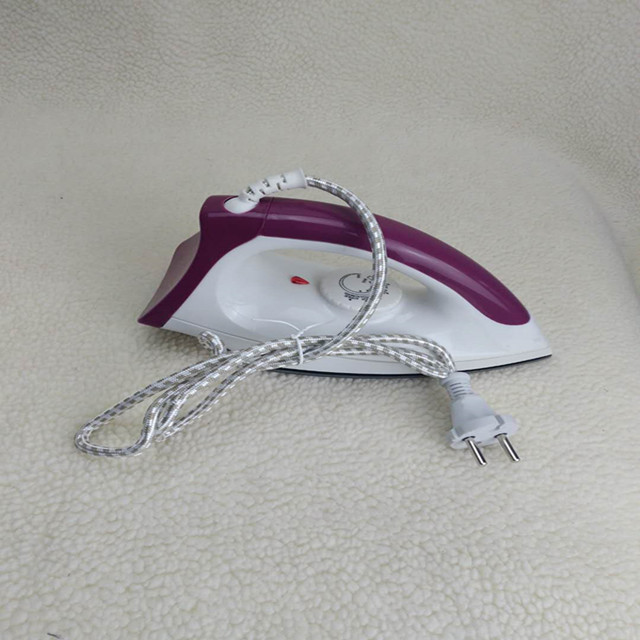 purple dry iron