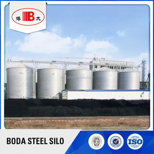 Grain storage silo for corn / wheat / soybean and other grains