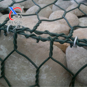 Hot galvanized wire anping factory of gabion box
