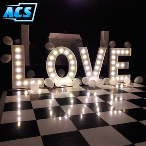 illuminated sign letters led pixel light waterproof IP68 led marquee letter sign with controller