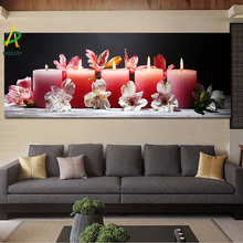 Light Up Led Canvas Print Painting Christmas Gift Wall Art Painting On Canvas With Led Light For Festival Decoration