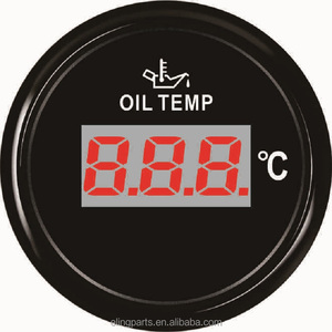 52mm Car Truck Boat Digital Oil Temp Temperature Gauge Meter 50-150