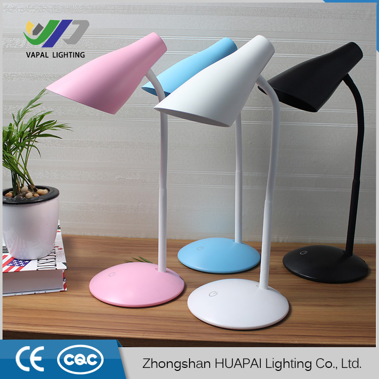 Heißer Verkauf Dimmbare Berührungsempfindliche Led Schreibtischlampe; 2 Watt Usb Lade Led Tisch Nachtlicht Mit Stifthalter Für Lesen Buch Lampen & Schirme