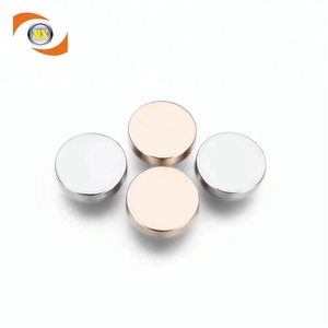 No MOQ Eco friendly alloy jeans metal button for garment accessories