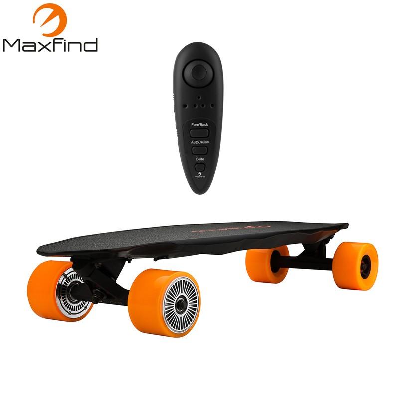 31 Electric Skateboard Longboard Max range 30km 1200W Dual Hub Motor 90mm