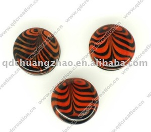 pyrex glass plug and taper body jewelry
