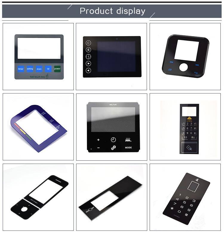Transparente tamaño personalizado acrílico Panel de vidrio/plexiglás HOJA DE