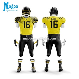 Custom design sublimated player wear American Football Jerseys