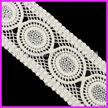 Nigeria Guipure Lace Crochet Free Pattern For Evening Dress Wnl216