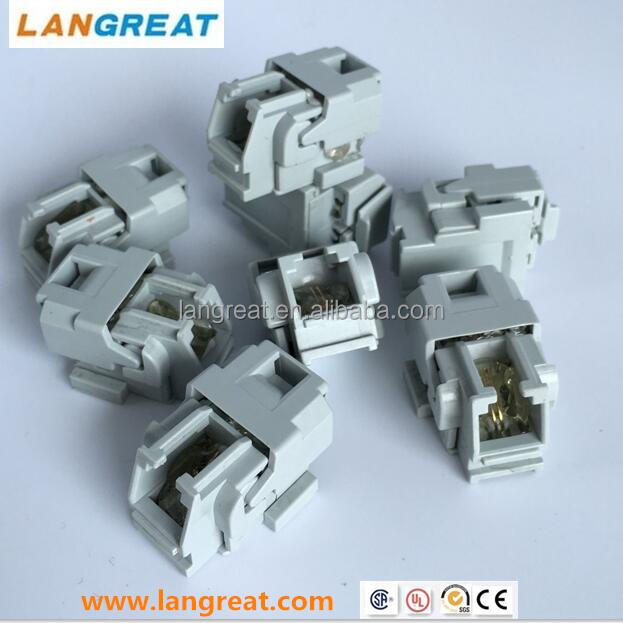 RJ11 Gel-filled telephone wall jack/ 6P2C GEL JACK