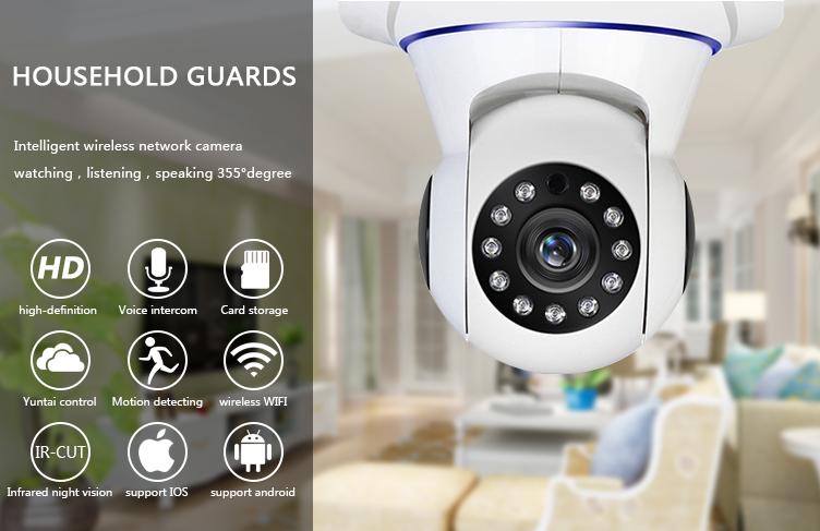 Laikor Wireless Surveillance Camera Hd Mobile Phone Remote Viewer Wifi 360  Degree Camera - Buy Wireless Surveillance Camera,360 Degree Camera Product