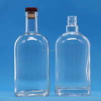 high grade quality glass vodka bottles