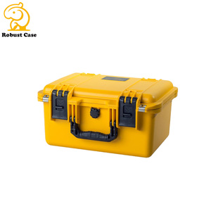 hot selling airtight waterproof plastic box flight case with foam insert for battery
