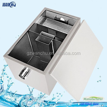 Grease Trap For Sale >> Factory Sales Stainless Steel Kitchen Grease Trap For ...