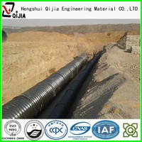 just for Africa market ! corrugated galvanized steel pipe