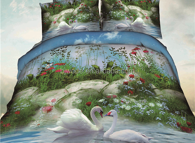 Wholesale price indian printed polyester bedsheets bedding brands oriental bedding